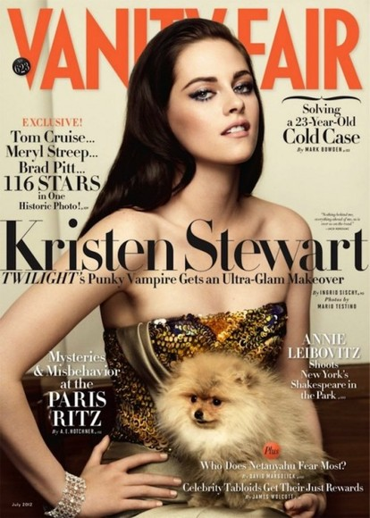 Kristen Stewart in Vanity Fair Shoot!!